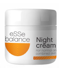 Крем ночной для нормальной и комбинированной кожи